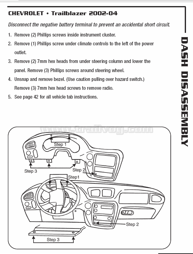 How to Change 2003-2006 GM Stepper Motors in Instrument