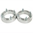 1.25 inch 4x137 ATV Wheel Spacers for Can Am Commander 800 1000 Renegade 500 800 Silver 2pcs