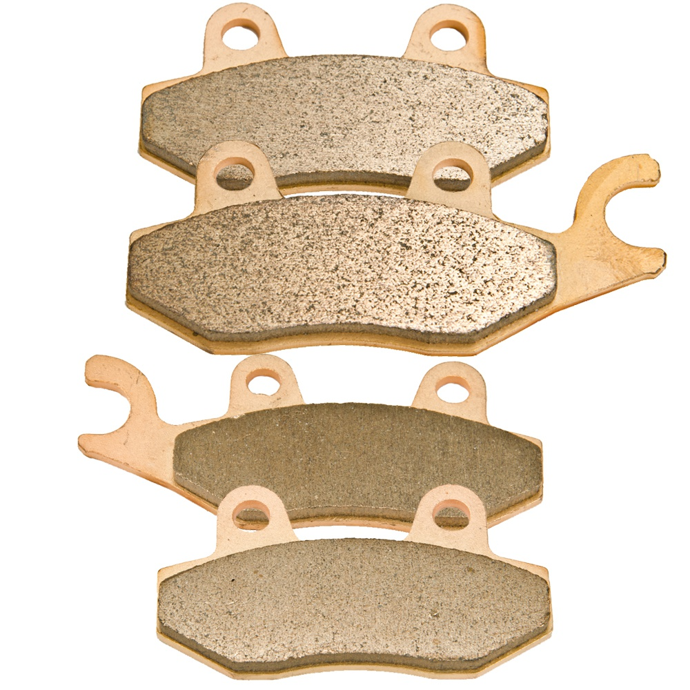 Front Sintered Brake Pads For 2005 2006 2007 2008 2009 2010 Kawasaki Brute Force 750 4x4